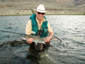 Deschutes River Fly Fishing for Steelhead.