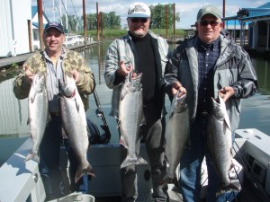 Rogue River Outfitters Springer Fishing 2011