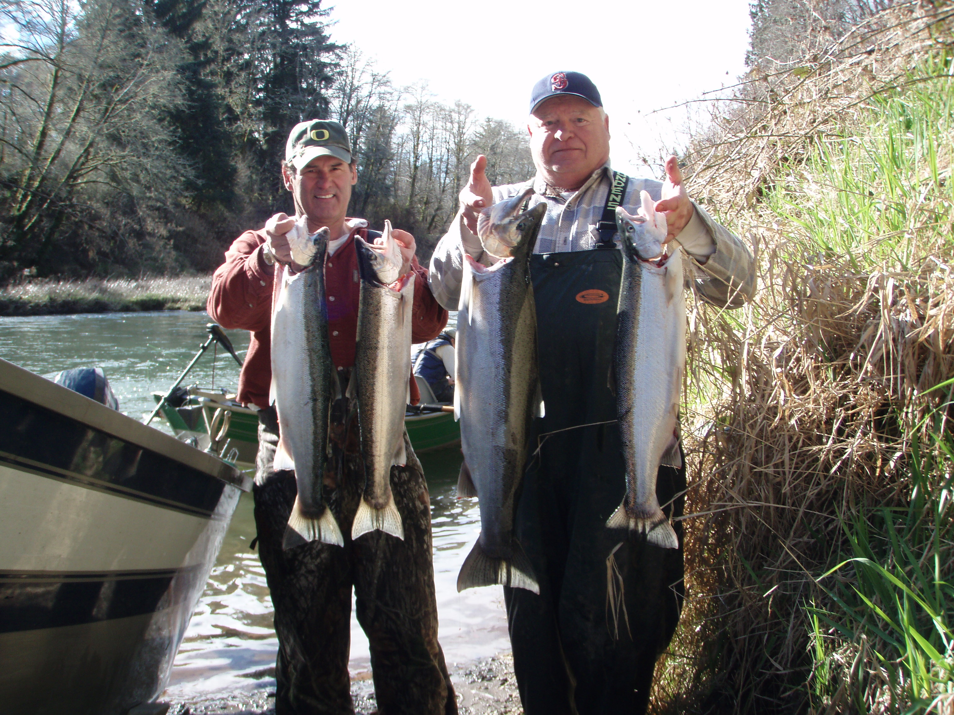 Oregon winter steelhead fishing rogue river outfitters blog for Oregon steelhead fishing