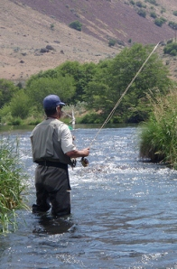 Flyfishing Deschutes River