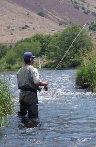 Flyfishing Deschutes River