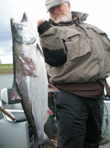 Chinook Salmon Fishing in Oregon