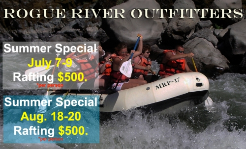 Rogue River Rafting Sale